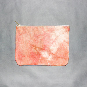 Sunset Canvas Dyed Clutch